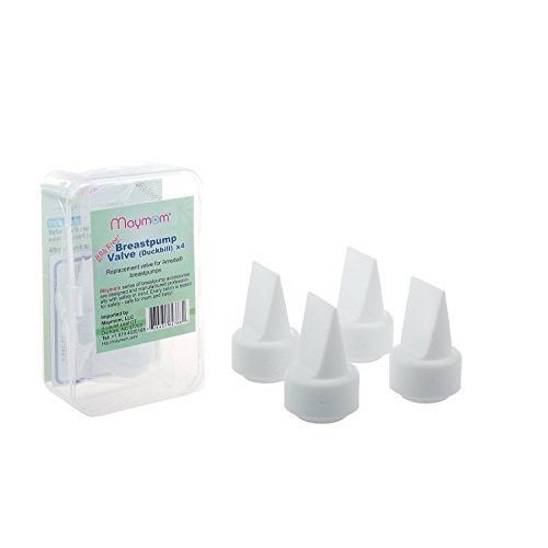 Maymom Breast pump Valves for Ameda purely Breast Pumps (1-Piece, Pack of 4)