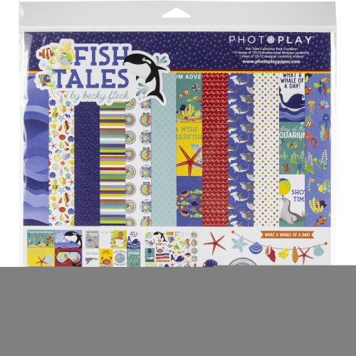 """Photoplay Collection Pack 12""""X12""""-Fish Tales"""