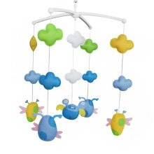 Handmade Baby Crib Mobile, Colorful Music Bed Bell, Creative Gift