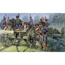 FRENCH LINE/GUARD ARTILLERY (NAP.WARS) - SOLDIERS 1:72 - Italeri 6018