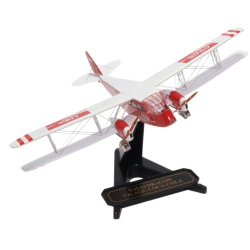 1:72 DH84 Dragon VH-AQU Coca Cola Model Plane