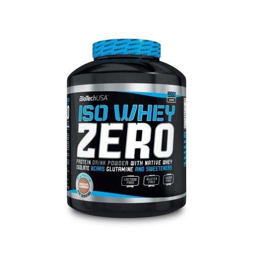 Biotech USA ISO WHEY Zero Protein Isolate Whey 2270g