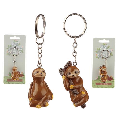 Fun Collectable Sloth Keyring