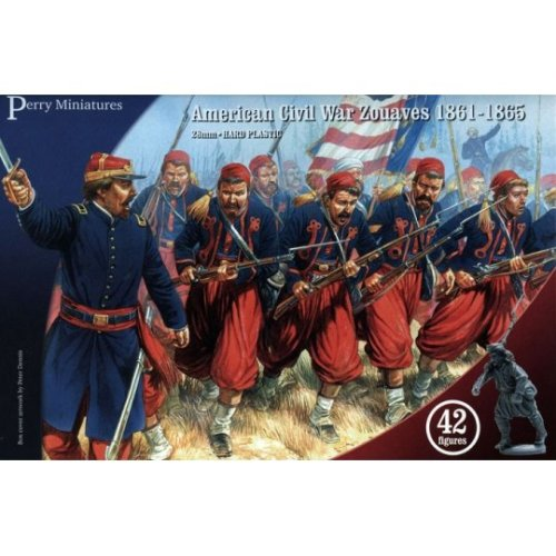 Perry Miniatures 28mm Plastic American Civil War Zouaves
