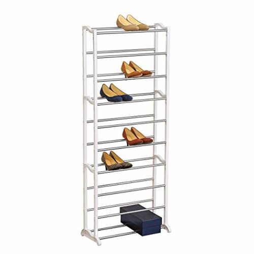 Narrow Space Shoe Rack - 10 Tier - Shoe Shelf Organizer