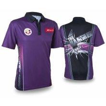 XQmax Darts Andy Hamilton Replica Match Shirt Purple XXXL QD9200370