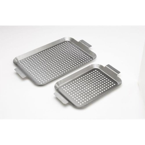 Stainless Grid , Small & Medium - Set