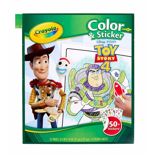 Toy Story 4 Color and Sticker