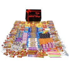 The Little Sweet Shop Retro Sweets Extra Large Gift Hamper The Perfect Gift Box for Birthday and Christmas or Valentines