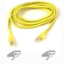 Belkin Cat5e Snagless UTP Patch Cable (Yellow) 0.5m