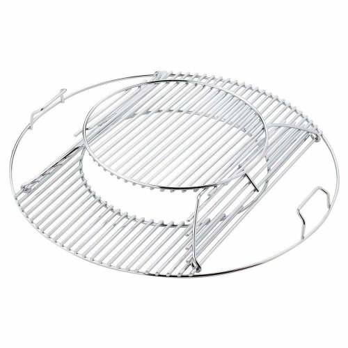 Bar. b.q.s Replacement for Weber 8835, fits 57cm Weber charcoal grills Stainless Steel Gourmet BBQ System Hinged Cooking Grate