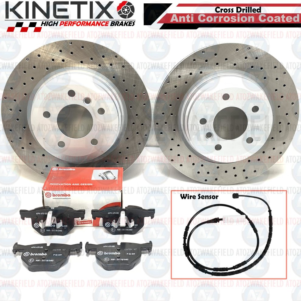MINTEX REAR DISCS AND PADS 302mm FOR MAZDA 5 2.0 2005
