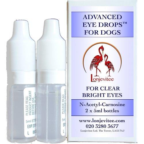 Lonjevitee Carnosine Eye Drops for Dogs