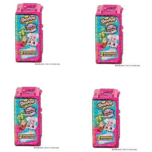Shopkins Series 8 World Vacation 2 Pack - Set Of 4 Pieces