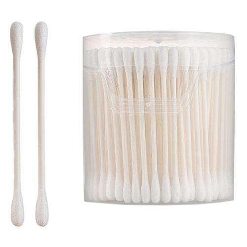 200PCS Safety Cotton Swabs Double Tipped Cotton Buds Multipurpose Cleaning Sticks #8