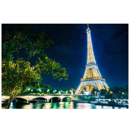 Fashionable Wooden Puzzle For Adult 1000 Piece Jigsaw Puzzle, Romantic Night