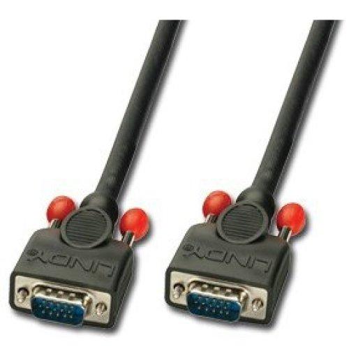 Lindy 31013 VGA cable 1.5 m VGA (D-Sub) Black