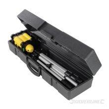 30m Range Silverline Rotary Laser Level Kit - 273233 -  laser level rotary silverline kit 30m range 273233