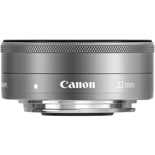 CANON EF-M 22mm F2 STM Silver