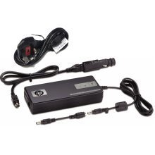 HP 90W Smart AC Auto Air Power Adapter Laptop Charger AJ652AA Car UK