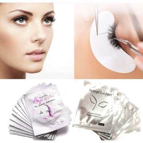 Eye Gel Pads - 50 Pairs of Eyelash Lash Extension Under Eye Gel Pads (50PCS)