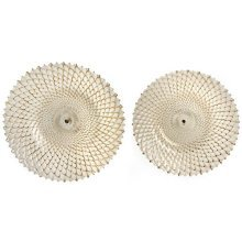 Art Noveau Style Brass Ceramic Circular Dish -  art noveau style brass ceramic circular dish