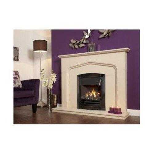Designer Fire - Flavel FKPCDNMN Black Nickel Decadence Plus Gas Fire - MC