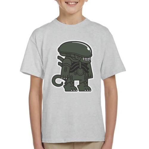 Mitesized Alien Xenomorph Kid's T-Shirt