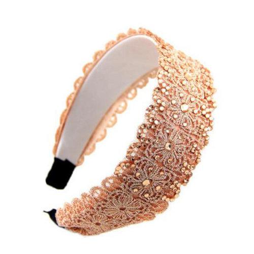 Womens Fashionable Elegant Korea Headband Hair Lace Band Hair Accessory?B