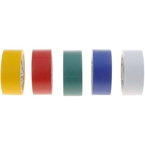 85294 12 In. Multi Color Pvc Eletrical Tape Assortment, Pieces 5