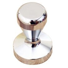 Stainless Steel Espresso Hand Tamper Flat Base 58mm [Silver]