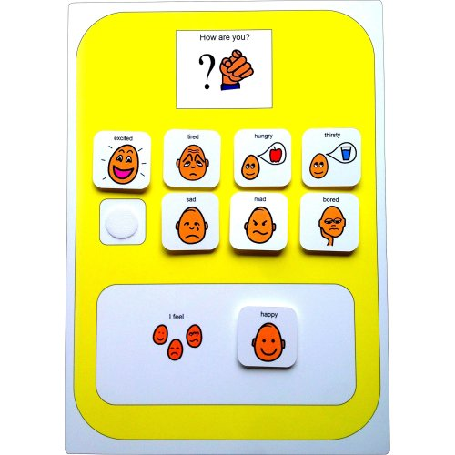 Visual Emotion Board AAC (Picture Communication Symbols)