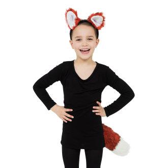 Bristol Novelty Childrens/Kids Big Tail Fox Set