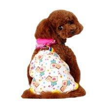 Cute Cartoon Pet Underwear Dog Physiological Pants Magic Bears, M
