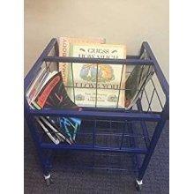 Childrens Mobile Book Storage Trolley (FU02739)