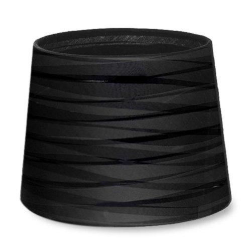 Dress Up Tapered Round Textured Black Finish Shade - LEDS-C4 PAN-219-05