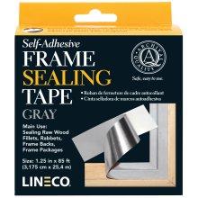 "Lineco Self-Adhesive Frame Sealing Tape-Blue/Gray 1.25""X85'"
