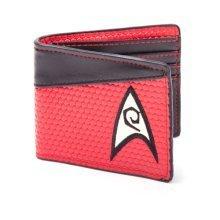 STAR TREK Into Darkness Engineering Logo Bi-fold Wallet, Red/Dark Grey (MW15ZXSTA)