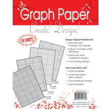 "Crafter's Helper Needlework Graph Papers-8.5""X11"" 40/Pkg"