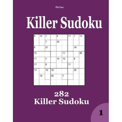 Killer Sudoku: 282 Killer Sudoku
