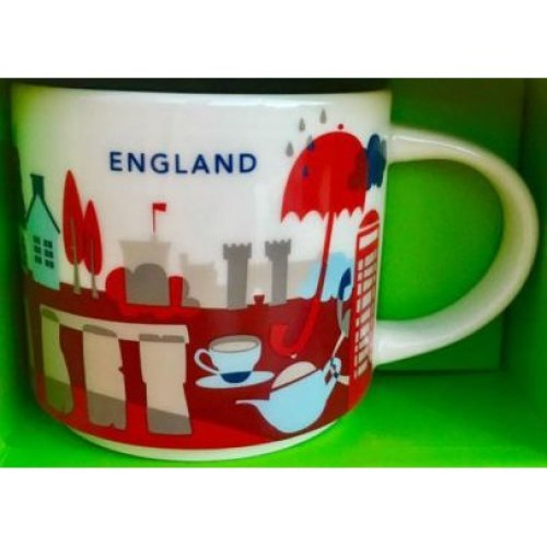 Starbucks You Are Here Collection Mug England
