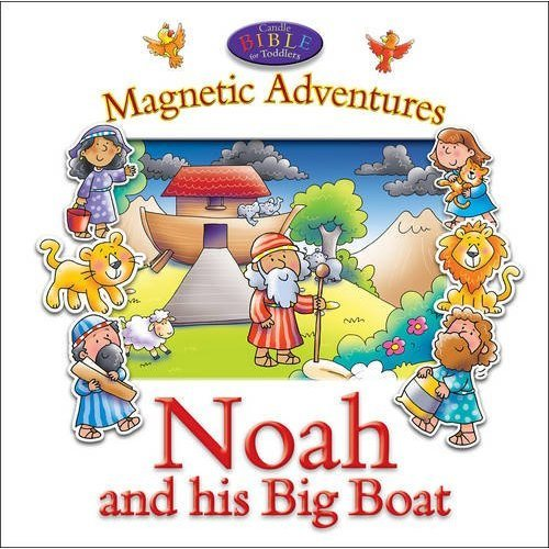 Magnetic Adventures - Noah (Candle Bible for Toddlers)