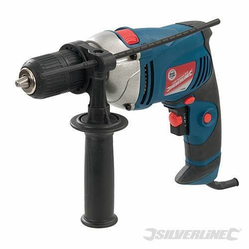 Silverline Silverstorm 710w Hammer Drill 710w - 550w Power 126898 Electric -  hammer drill 710w silverline silverstorm 550w power 126898 electric