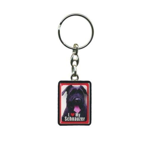 Giant Schnauzer Dog Keyring