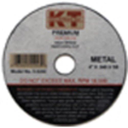 KT Industries 395924780 13300 Premium Reinforced Quick Cut-Off Wheel - 4.5 x 0.040 x 0.87 in.