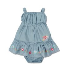 Bright Bots Fiesta Woven Dress Set