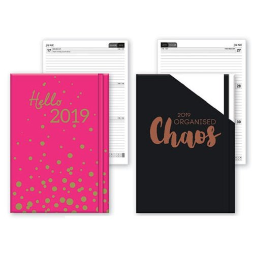 2019 A6 Week To View Softback Diary Home Office WTV W2V Christmas Birthday Gift