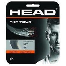 Head FXP Tour 16 Tennis String Black