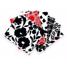 Fat Quarter Bundle - 100% Cotton - Rojo - Pack of 6