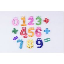 15 PCS Math Number Magnets for Kids Math Toys Fridge Magnets